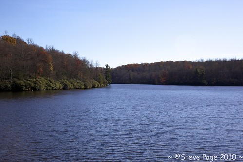 autumn trees mountain lake color water northcarolina stevepage mountainlake blueridgeparkway itail stephenpage pagephotos