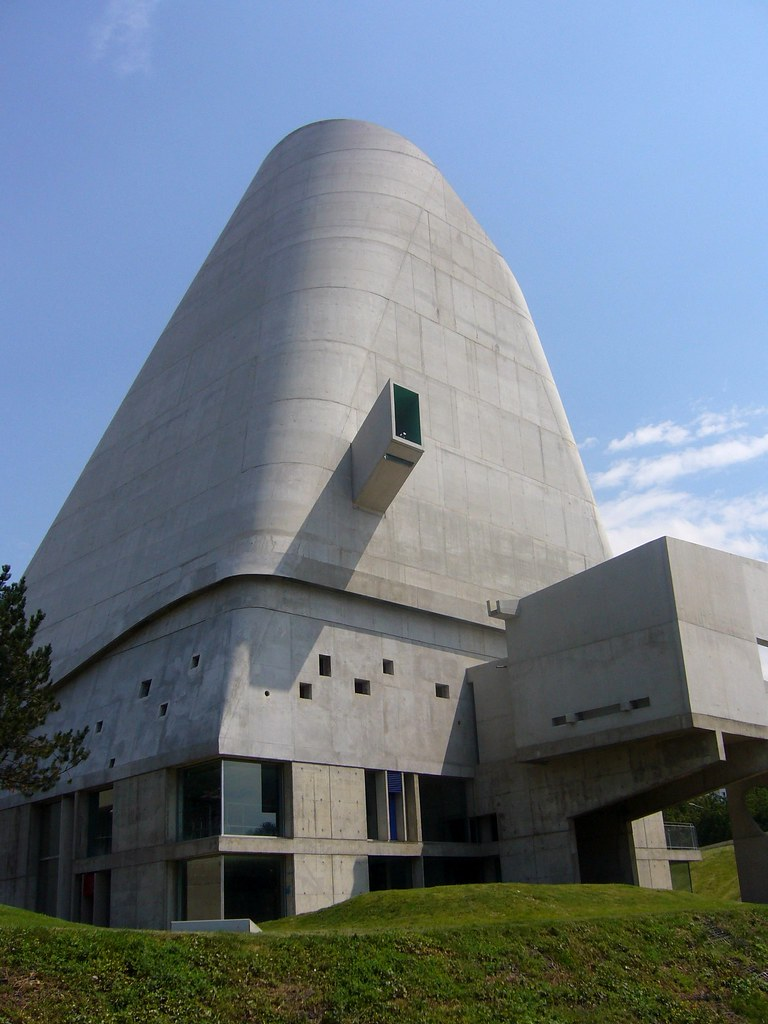 Church of Le Corbusier at Firminy
