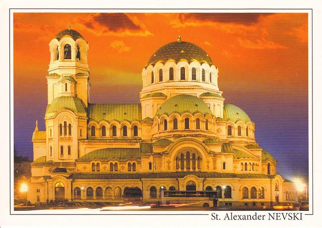 St. Alexander Nevski Cathedral Postcard