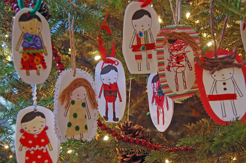 small object dress up ornaments | by SouleMama