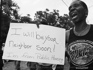 """I Will Be Your Neighbor Soon...  I'm From Public Housing"" 