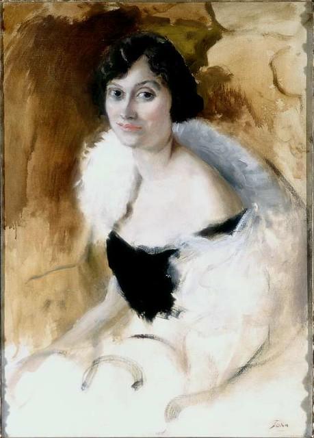 Pss Antoine BIBESCO - Lady Elizabeth ASQUITH by Augustus J
