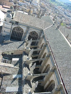 Cruz latina de la Catedral de Toledo vista desde la torre   by eduardoasb