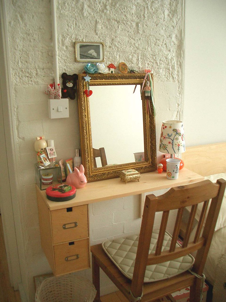 Diy Dressing Table Good Old Bradd Rigged Me Up This Sweet Flickr