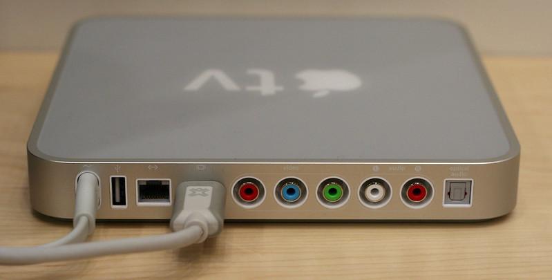 Apple TV connectivity options