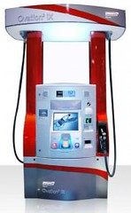 futuristic gas pump with mp3 download capability | by constantskepticupdates