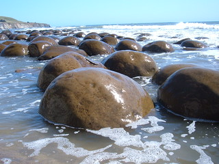 Bowling Ball Beach closeup | by muhawi001