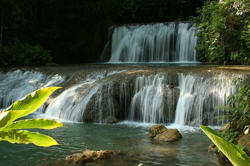 nature waterfall jamaica ysfalls