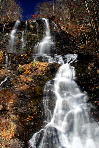 blue usa mountains georgia waterfall shots falls ridge amicalola outstanding outstandingshots