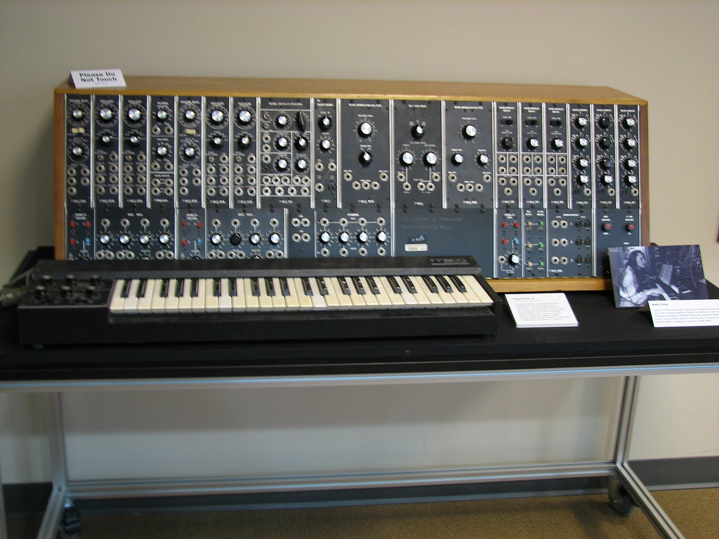 Moog synthesizer | On display at the University of Maryland
