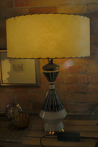 Tom's New Vintage 50s Lamp - From Father and Son, Raleigh NC | by JoeInSouthernCA