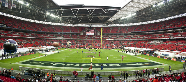 NFL @ Wembley Oct 2010