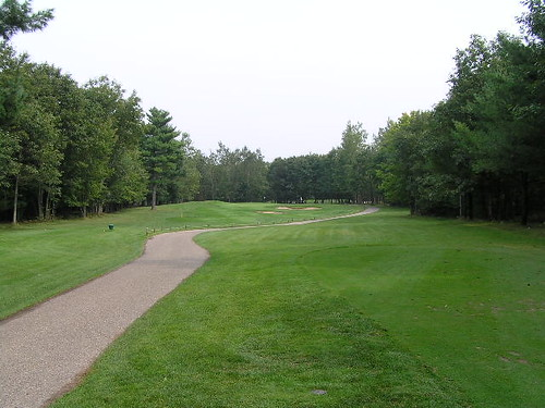 13th hole, Canthooke Valley course, Manistee National Golf ...