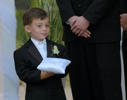 Jessica and Mark's ring bearer   by garyfgarcia