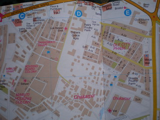 (1) Chakkarpur Map