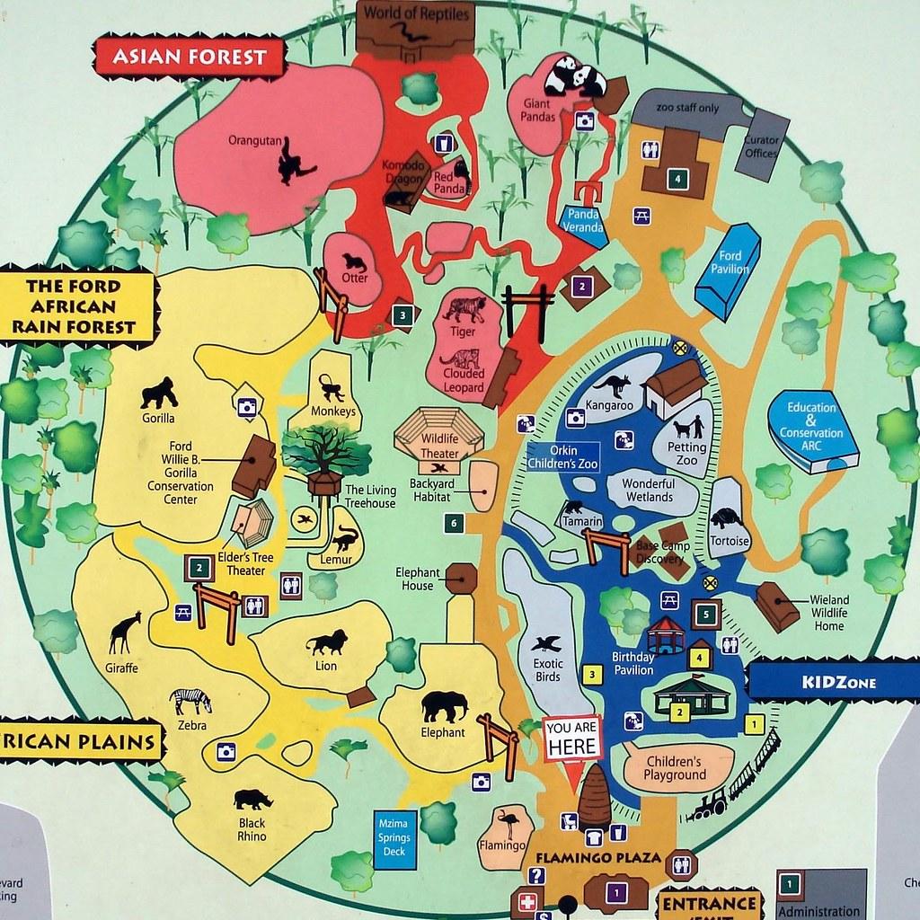 map of atlanta zoo Zoo Atlanta Map Alphabetical Order Z Is For Zoo Tom Magliery map of atlanta zoo