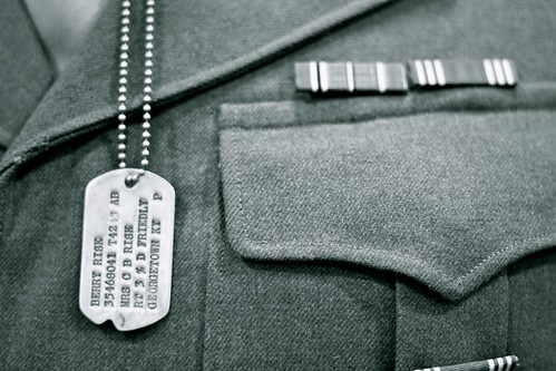 POW Dog Tags from WWII | by Two Black Dogs.
