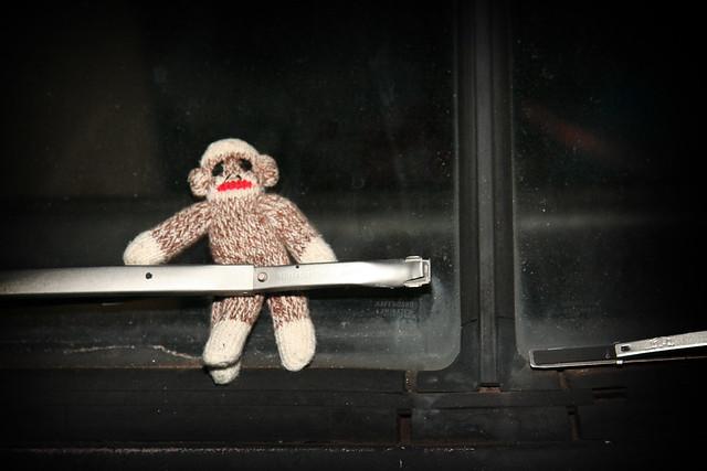 Terrorizing Your Sock Monkey Idea #7