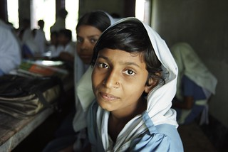 School girl in class. Bangladesh   by World Bank Photo Collection