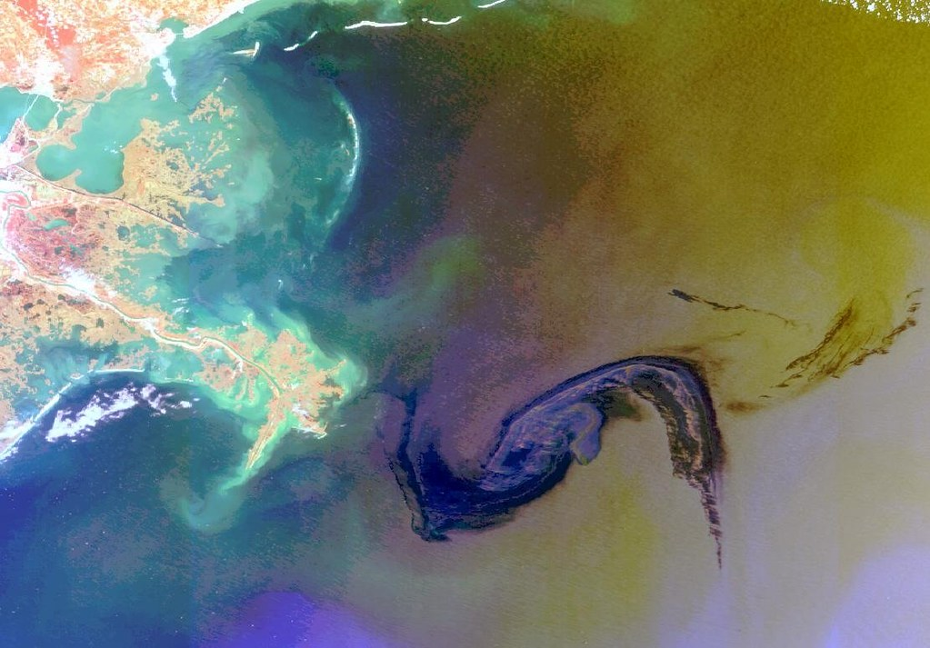Bp Oil Spill From Space