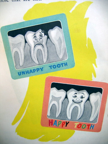 Happy and Unhappy teeth - X-ray | by mucus*plug