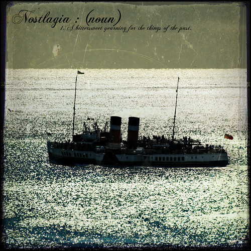 Nostalgia (The Paddle Steamer SS Waverley) - The Dictionary of Image