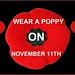 Wear A Poppy 2010 On Black