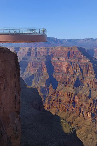 Skywalk Grand Canyon West Rim Az Usa Skywalk Was Publi