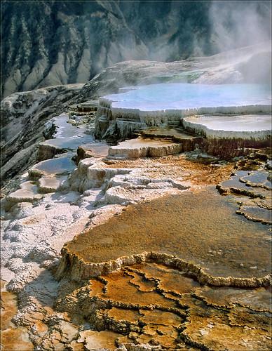 Mammoth Hot Springs | by walking along