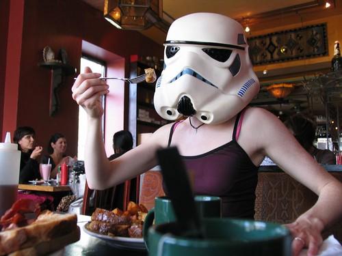 redandjonny: Stormtrooper all day breakfast | by RedandJonny