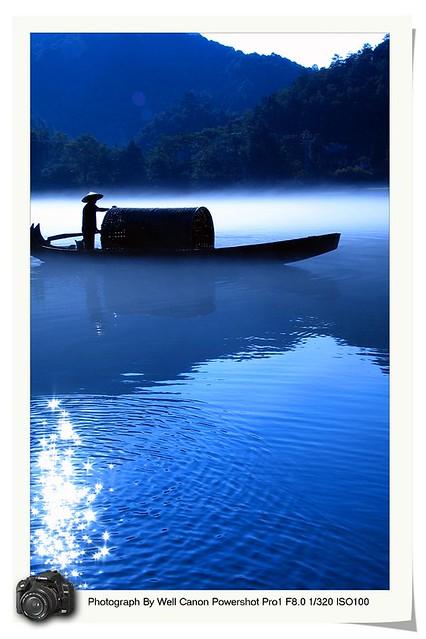 Morning Fog in Xiaodongjiang River