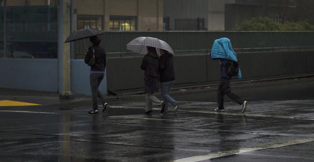 Rain in the Fillmore, San Francisco (2010)