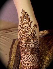close up of ganesh | by HennaLounge