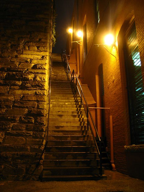 Quot Exorcist Quot Stairs Taken Friday Evening During A Light