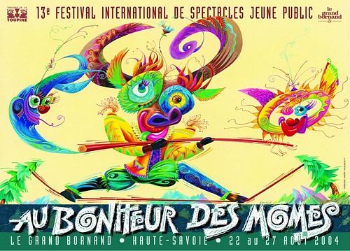 Affiche Festival Au Bonheur des Momes-2004 | by Le Grand-Bornand