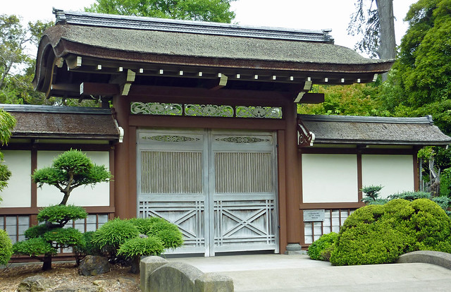 Gates to the Japanese Garden in Golden Gate Park