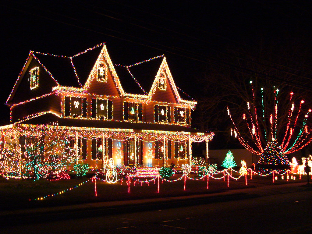Crazy Christmas House (NJ) | This is on the way to ...