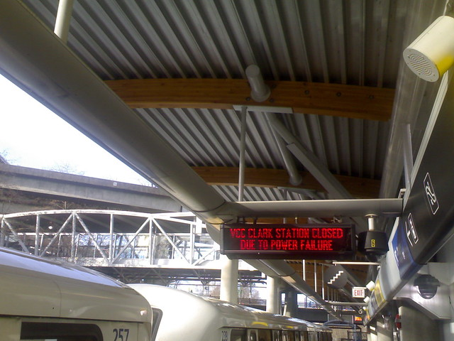 VCC-Clark Station Closed Due to Power Failure