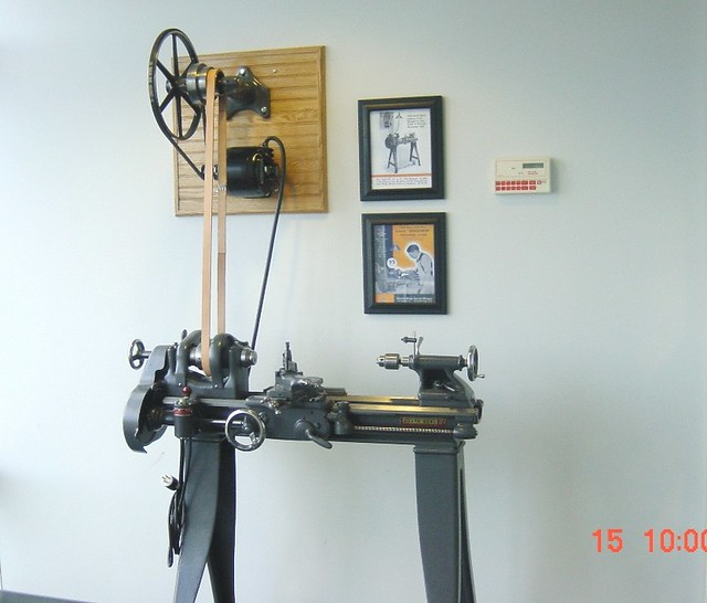 1936 415 YF workshop lathe Display | 1936 415 YF South Bend