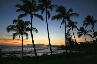 Poipu Sunset | by --Raven