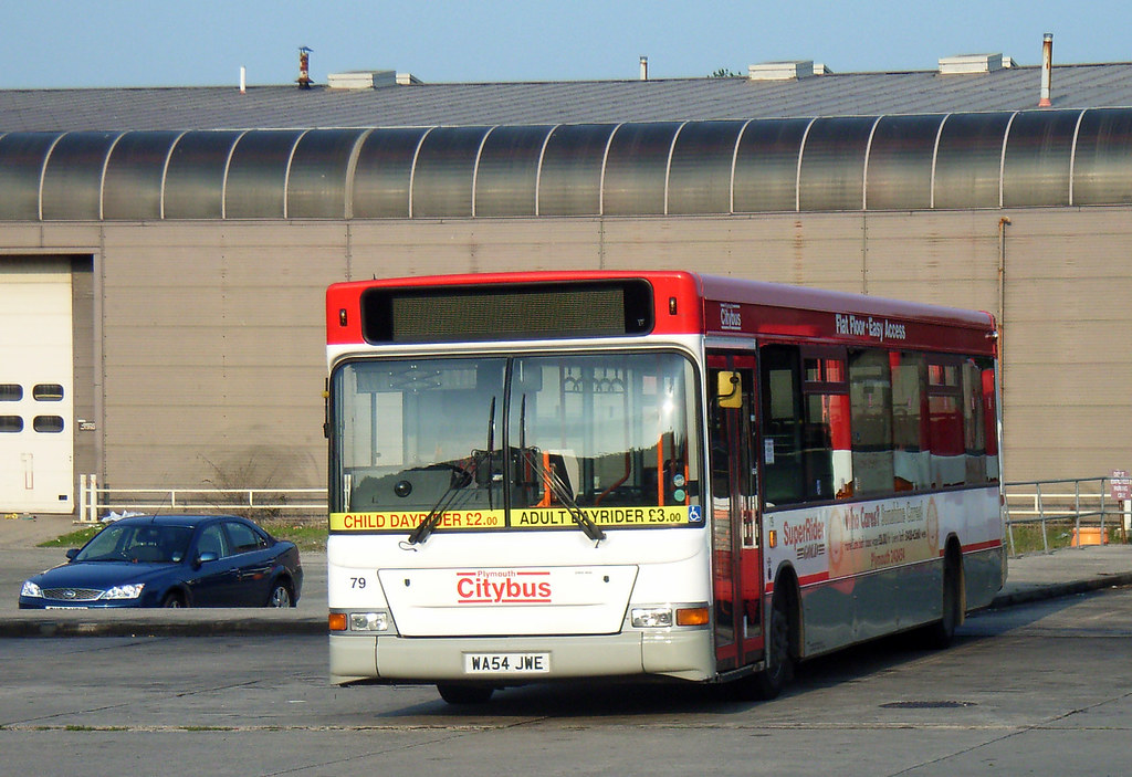 Plymouth Citybus 079 WA54JWE