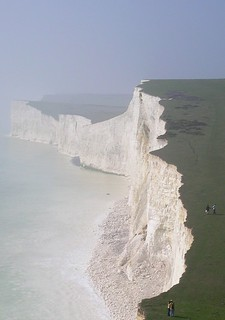Book 2, Walk 28, Seaford to Eastbourne Seven Sisters, 28 March 2005