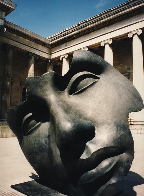 British Museum courtyard