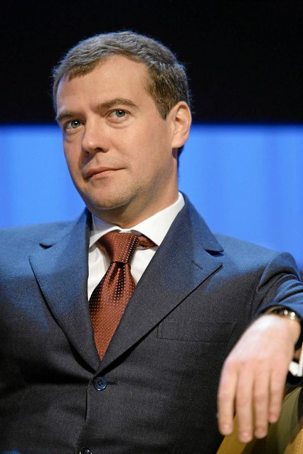 Dmitry Medvedev - World Economic Forum Annual Meeting Davos 2007