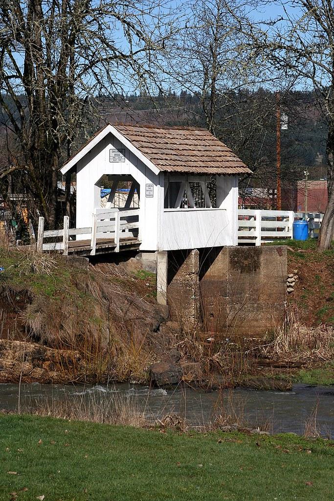 dahlenburg   Dahlenburg covered bridge, Sweet Home Oregon ...