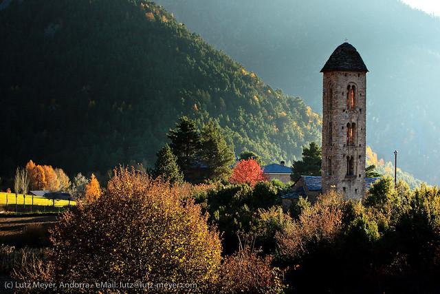 Andorra churches & chapels: Engolasters. Escaldes-Engordany, Andorra