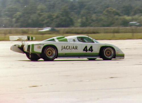 Bob Tullius Jaguar XJR-7 at Sebring 1986   Bob Tullius ...