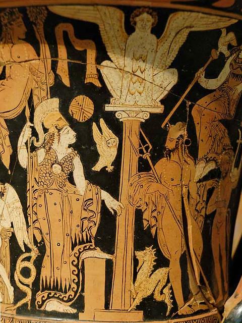 -0360 La disputa de Atenea y Posidón