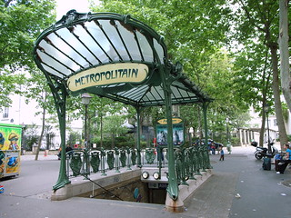 Abbesses Metro Station | by stevecadman