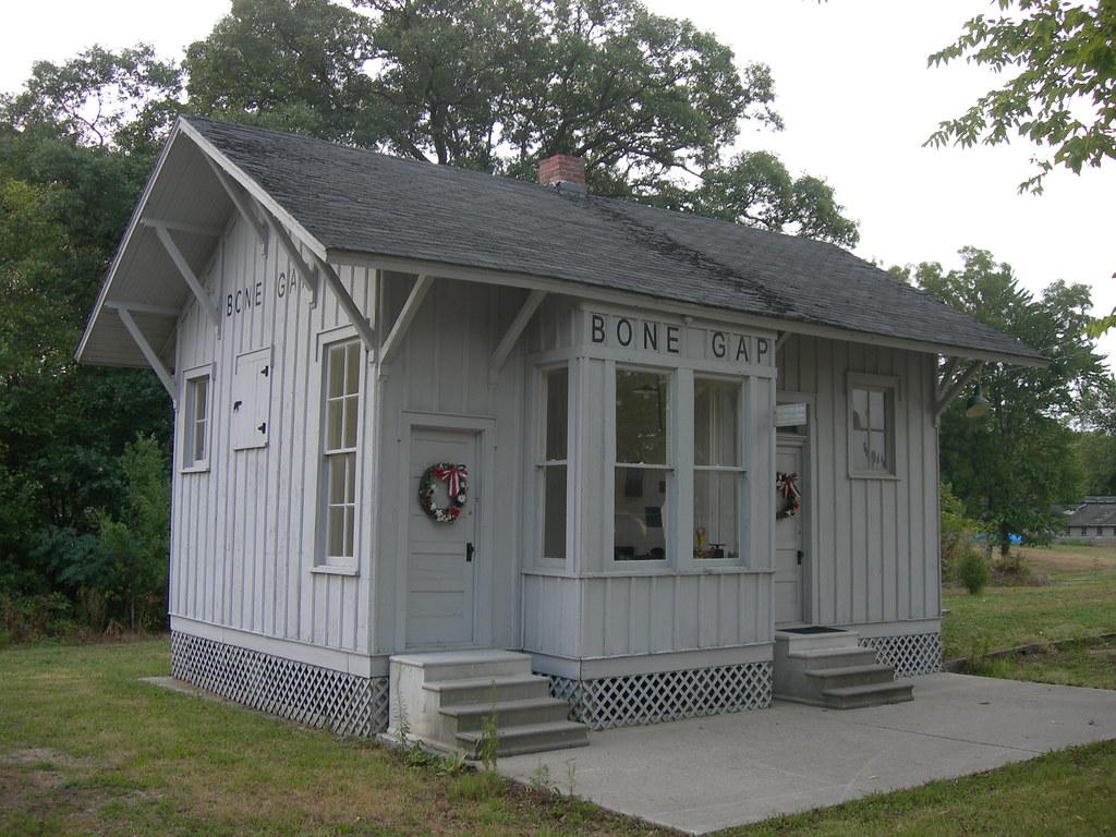 Bone Gap Train Depot